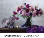 Still Life With Bouquet Of...