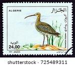 algeria   circa 2001  a stamp... | Shutterstock . vector #725489311