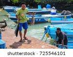 santa cruz  ecuador   april 23  ...   Shutterstock . vector #725546101