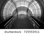 black and white interior | Shutterstock . vector #725553511