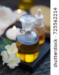 aromatherapy essential oils in... | Shutterstock . vector #725562214