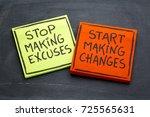 Stop Making Excuses  Start...