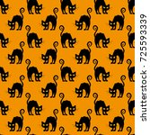 abstract seamless pattern for... | Shutterstock . vector #725593339