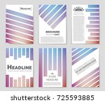 abstract vector layout... | Shutterstock .eps vector #725593885