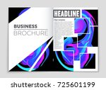 abstract vector layout... | Shutterstock .eps vector #725601199