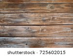 old wooden background from... | Shutterstock . vector #725602015