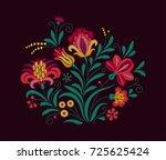 vector oriental motif of...   Shutterstock .eps vector #725625424