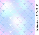 mermaid skin or fish scale... | Shutterstock .eps vector #725627119