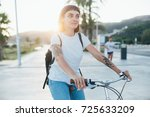 attractive and stylish trendy... | Shutterstock . vector #725633209