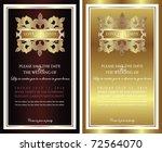 gorgeous vintage design | Shutterstock .eps vector #72564070