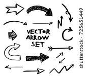 illustration of grunge sketch... | Shutterstock .eps vector #725651449