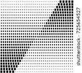 abstract halftone pattern.... | Shutterstock .eps vector #725654527