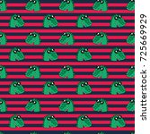 cute kids pattern for girls and ... | Shutterstock . vector #725669929