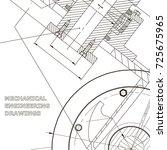 backgrounds of engineering...   Shutterstock .eps vector #725675965