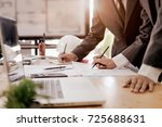 cooperation corporate... | Shutterstock . vector #725688631