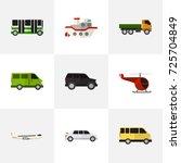 set of 9 editable automobile...