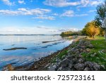 scenic view of the lake... | Shutterstock . vector #725723161