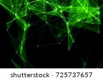 abstract technology and future... | Shutterstock . vector #725737657