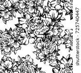 abstract elegance seamless... | Shutterstock . vector #725740447