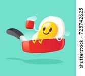 good morning  smile for sweet... | Shutterstock .eps vector #725742625