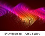 abstract colorful digital... | Shutterstock .eps vector #725751097