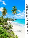 bottom bay  barbados   paradise ... | Shutterstock . vector #725758105
