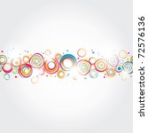 seamless holiday stripe. | Shutterstock .eps vector #72576136