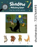 shadow matching game by finding