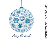 greeting card with  blue...   Shutterstock .eps vector #725765089