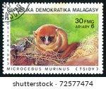 malagasy   circa 1983  stamp...   Shutterstock . vector #72577474