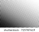 distressed halftone background. ... | Shutterstock .eps vector #725787619