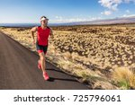sport runner man athlete... | Shutterstock . vector #725796061