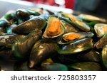 mussel | Shutterstock . vector #725803357