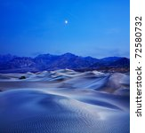 Sand Dunes  Mountains And...