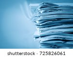 extremely close up  report... | Shutterstock . vector #725826061