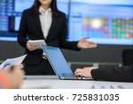 young business people in board...   Shutterstock . vector #725831035