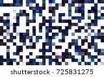 dark blue vector polygonal... | Shutterstock .eps vector #725831275