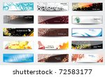 banners glossy .   Shutterstock .eps vector #72583177