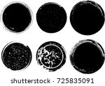 grunge post stamps collection ... | Shutterstock .eps vector #725835091