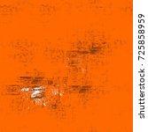 seamless dark brown grunge... | Shutterstock . vector #725858959