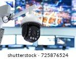 smart city technology concept.... | Shutterstock . vector #725876524