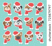 Christmas Illustration Set Wit...