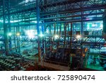 steel making workshop | Shutterstock . vector #725890474