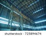 factory building | Shutterstock . vector #725894674