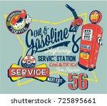 cute garage gasoline service...