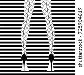 woman's legs in high heels....   Shutterstock .eps vector #725904619