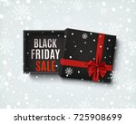 black friday sale design.... | Shutterstock . vector #725908699