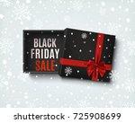 black friday sale design.... | Shutterstock . vector #725908699