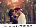 couple in love. | Shutterstock . vector #725922829