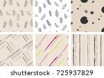 hand drawing pattern | Shutterstock .eps vector #725937829
